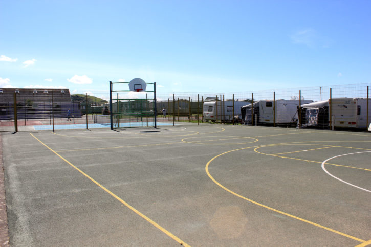 Football and Basketball Courts